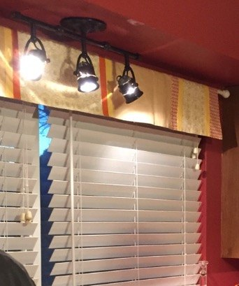 creative cheap easy curtain hack, home decor, window treatments, I was tired of this runner