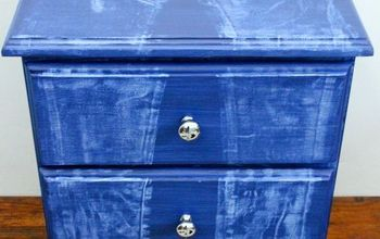 How to Create a Faux Denim Look on Painted Furniture