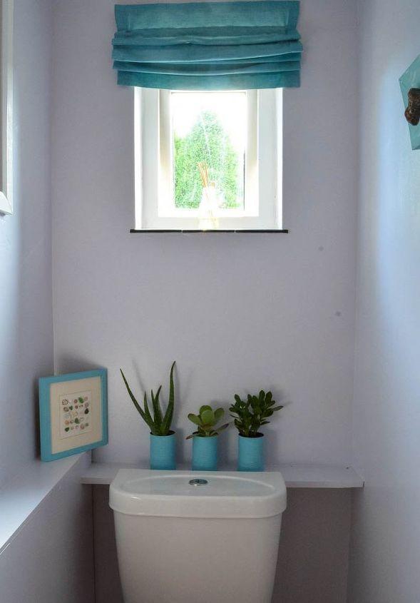thrifty bathroom update beach inspired, bathroom ideas