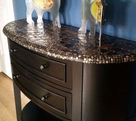 Charmant Upcycled Tin Can Lid Table Top Cover Up Episode 4 Of Dogs Vs Cats, Living