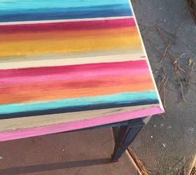 Colorful Painted Furniture. Mexican Blanket Dresser How To Blend Color With  Clay Based Paint,