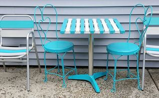how to create an ice cream parlor table you will need and love, home improvement, how to, paint colors, painted furniture