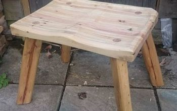 100 pallet wood stool, pallet, woodworking projects, The final product sturdy and comfortable