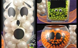 spook tacular candy filled halloween treats tutorial, halloween decorations, how to, seasonal holiday decor