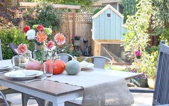 Fall Patio and Urban Farm Tour