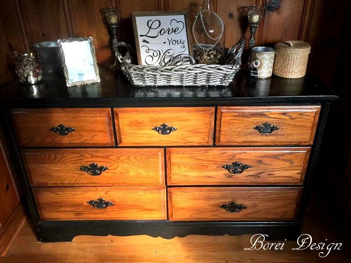 how my friend s old dresser became my new buffet, dining room ideas, home decor, painted furniture, repurposing upcycling