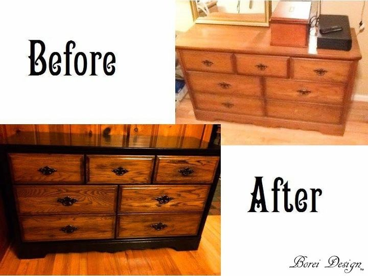 How My Friend S Old Dresser Became New Buffet Dining Room Ideas Home
