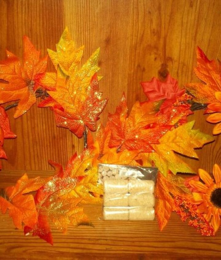 quick and easy thanksgiving centrepiece, repurposing upcycling, seasonal holiday decor, thanksgiving decorations