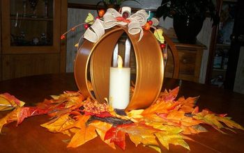 Quick and Easy Thanksgiving Centrepiece