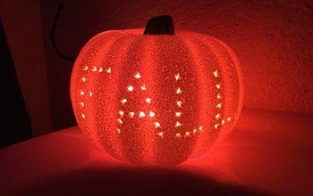 A Dollar Store Pumpkin - 3 Ways to Have Fun!
