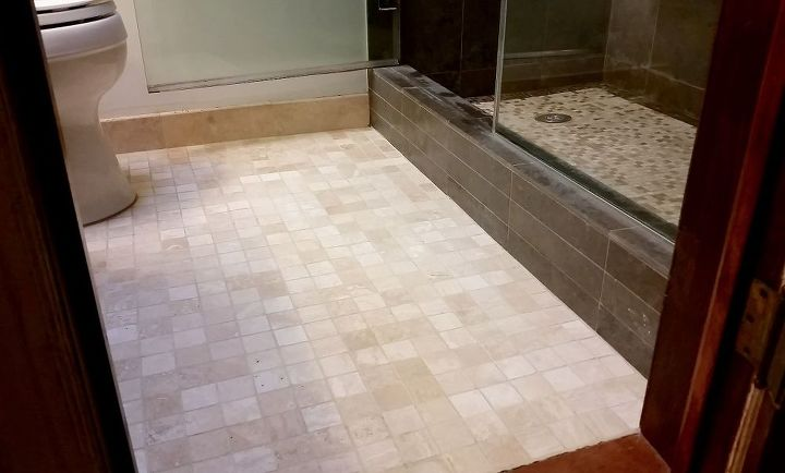 Easy Grout Cleaner And Swiffer Hack For Under Hometalk - Cleaning grout in bathroom floor tiles
