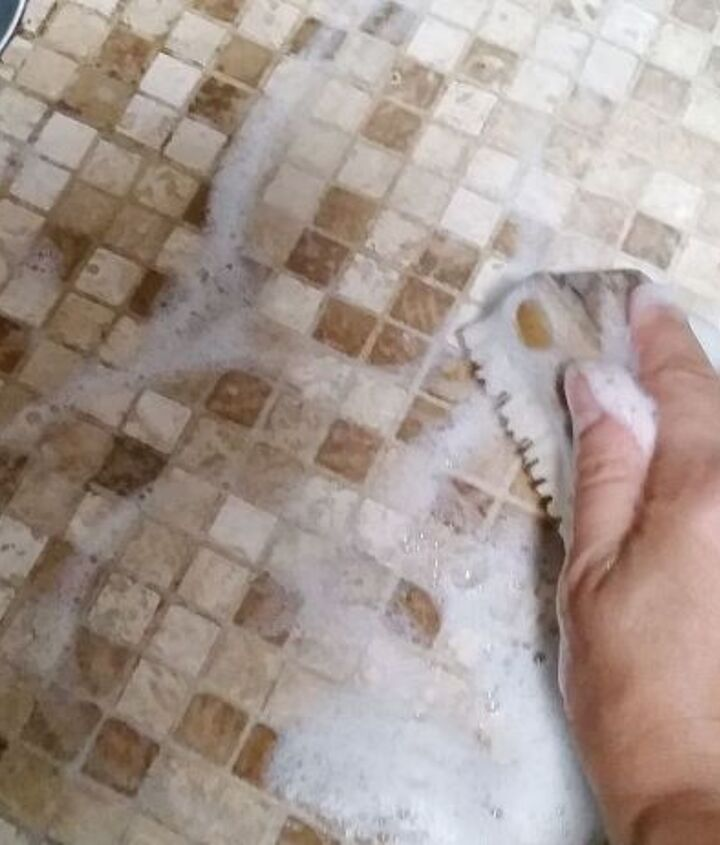 A Good Scrubbing is all Your Grout Needs!