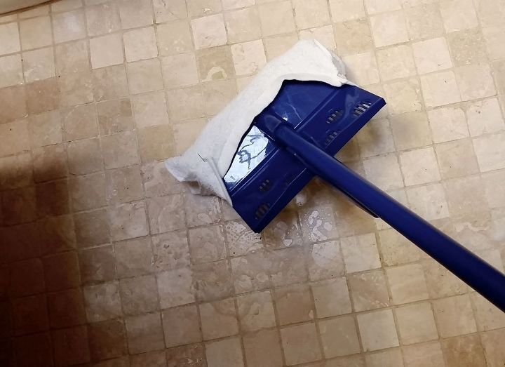 You Got It: Mopping Comes After Scrubbing!