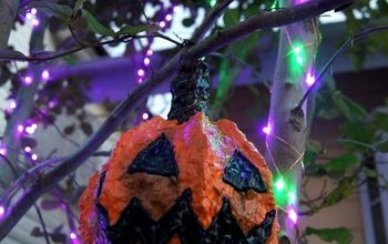How To Make Small Paper Clay Jack O' Lanterns