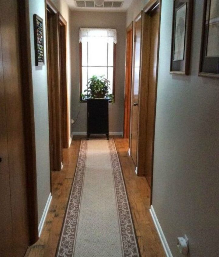 s if your hallway is dark here is what you re missing, foyer, Build a window for natural light