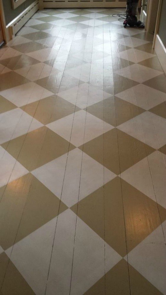 floor paint ideasShock Your Guests With These ShoeString Budget Flooring Ideas