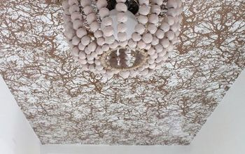 Make a Paper Mache Beaded Chandelier