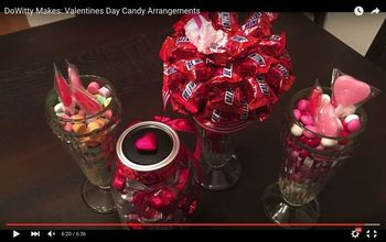 How To Make Valentines Candy Arrangements!