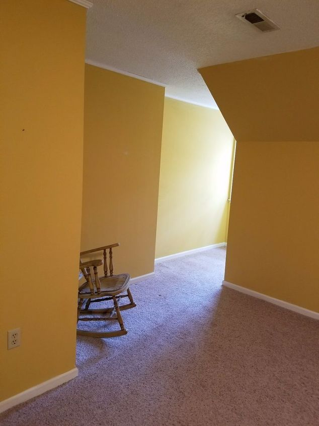 q what to do with deep dormers, bedroom ideas, home improvement, small home improvement projects, Weird corner
