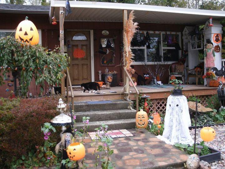 Outdoor light up halloween krumpets decor for Home depot halloween decorations 2016