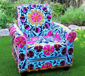 High Quality No Sew Upholstered Boho Chair, Living Room Ideas, Outdoor Living, Plumbing,  Repurposing