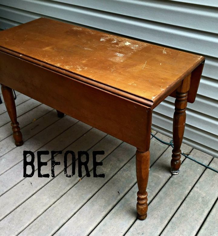 rustic farmhouse table using paint and glaze painted furniture - Rustic Farmhouse Table