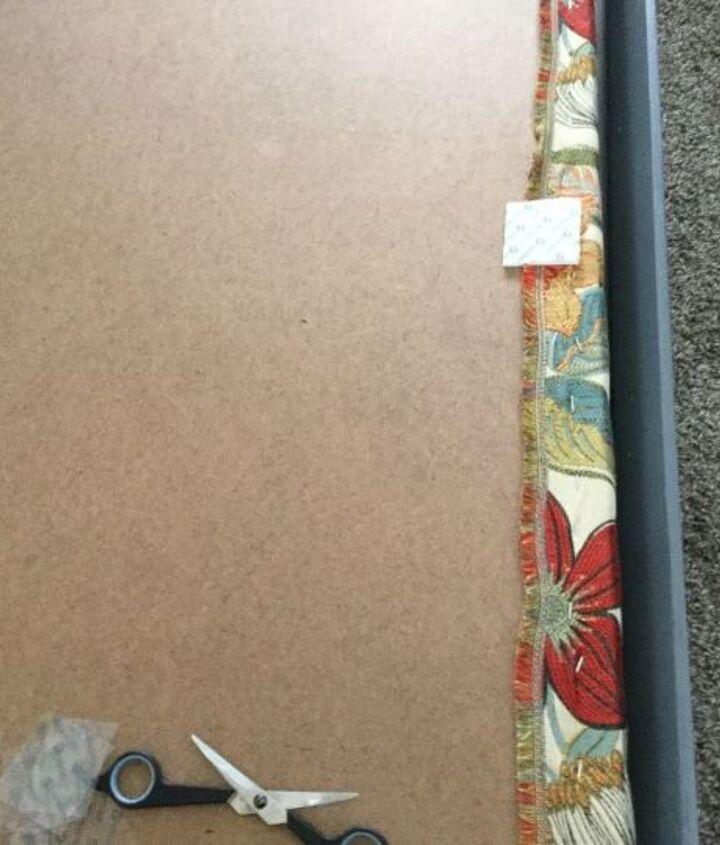 headboard redo, bedroom ideas, how to, reupholstoring, reupholster
