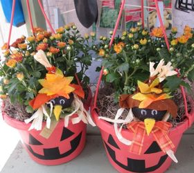 Fun Way To Recycle Those Old Hanging Baskets With Ease , Crafts, Halloween  Decorations, ...