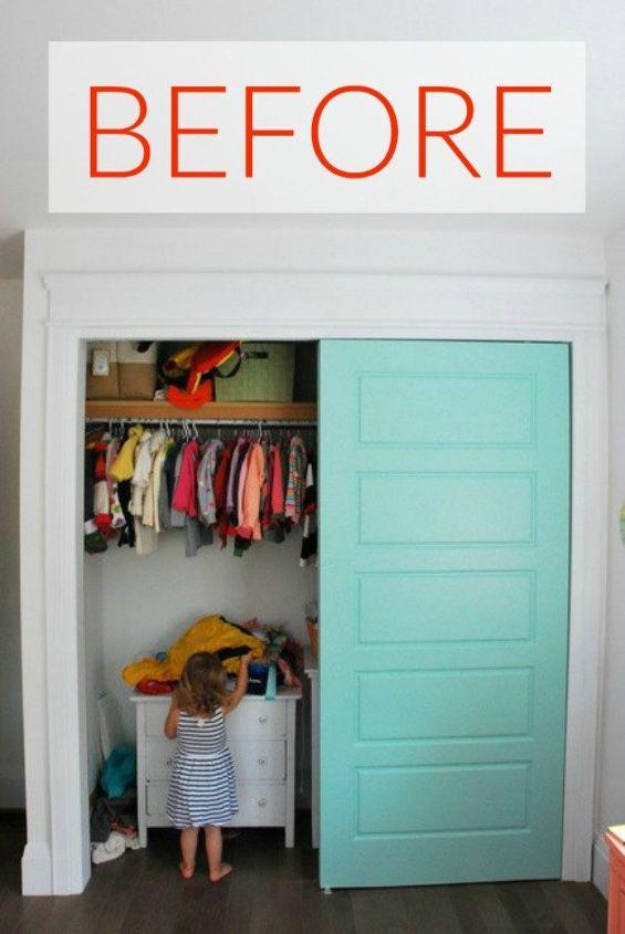 s your quick catalog of gorgeous closet makeover ideas, closet, Before A messy interior