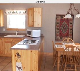 Cabin Kitchen And Dining Space Renovation Diy, Kitchen Design, The Before  Photo From Realtor