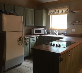 Cabin Kitchen And Dining Space Renovation Diy, Kitchen Design, Cabinet Reno  Completed