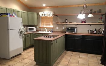 cabin kitchen and dining space renovation diy, kitchen design, Finished Product