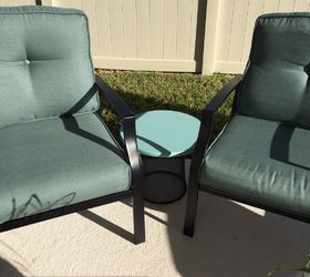 Trash To Treasure Patio Tables, Home Improvement, Painted Furniture, Table  Next To The
