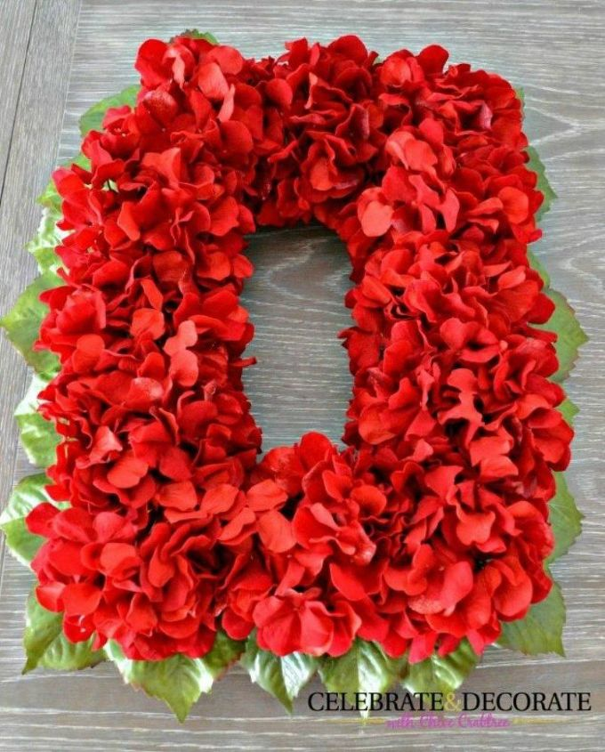 s why everyone is buying artificial flowers for the holidays, gardening, They make bright and bold wreaths