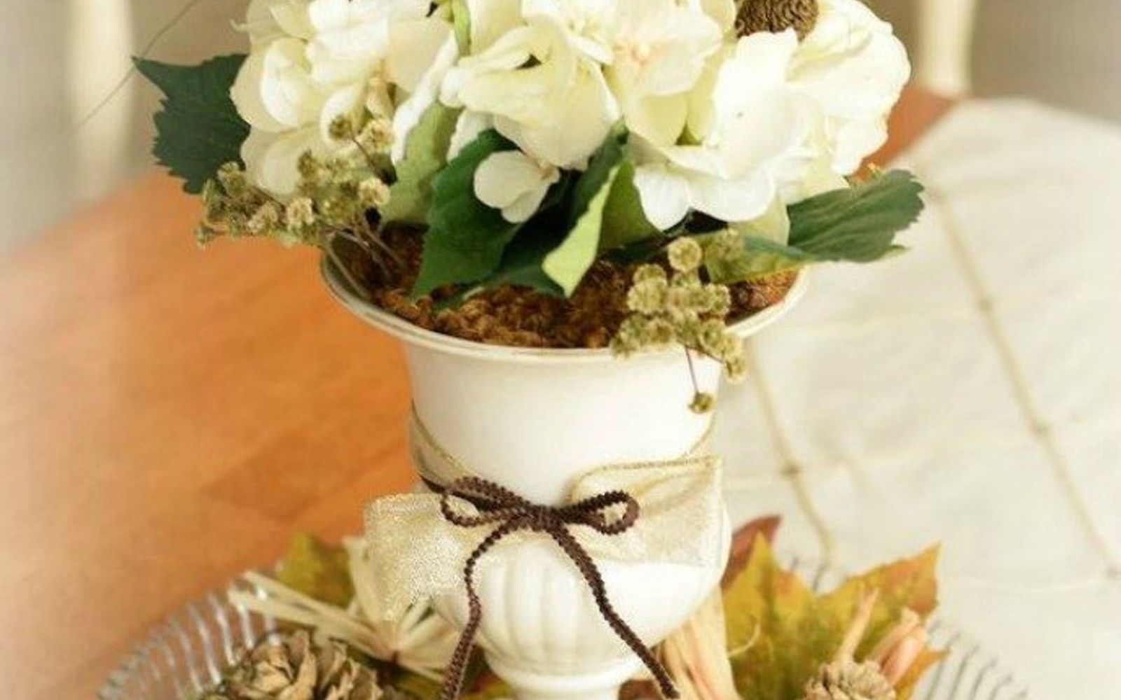 s why everyone is buying artificial flowers for the holidays, gardening, They look great as a centerpiece