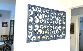 rubber door mat wall decor, doors, home decor, wall decor