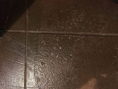 Q Stained Concrete Floor Problem Help Masonry Repair Flooring