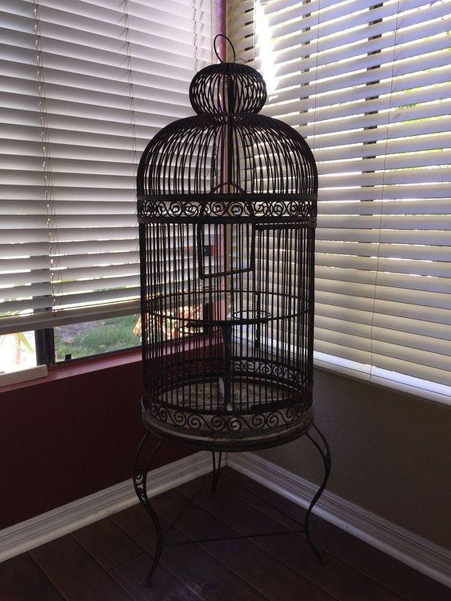 Want To Restore Vintage Bird Cage Hometalk