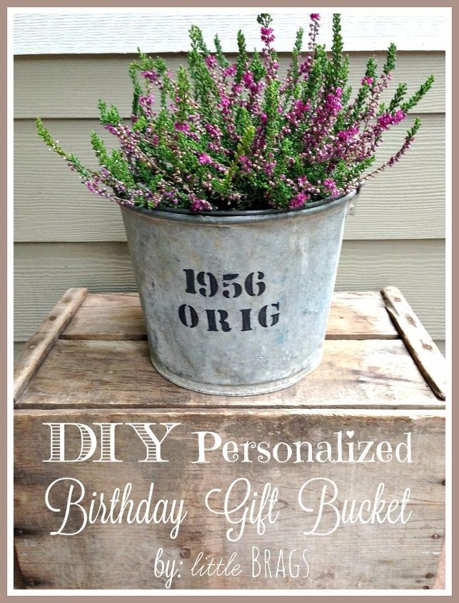 diy personalized birthday gift idea, bedroom ideas, container gardening, crafts, gardening, home decor