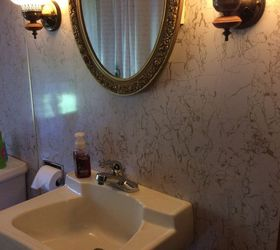 Does Anyone Have An Idea Of How I Should Redo My Bathroom Walls? | Hometalk
