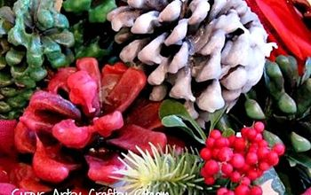 How to Make Wax Covered Pine Cones!