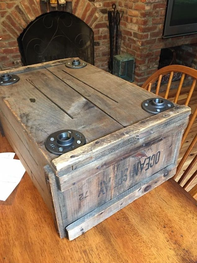 New Purpose For Old Wood Crate Hometalk