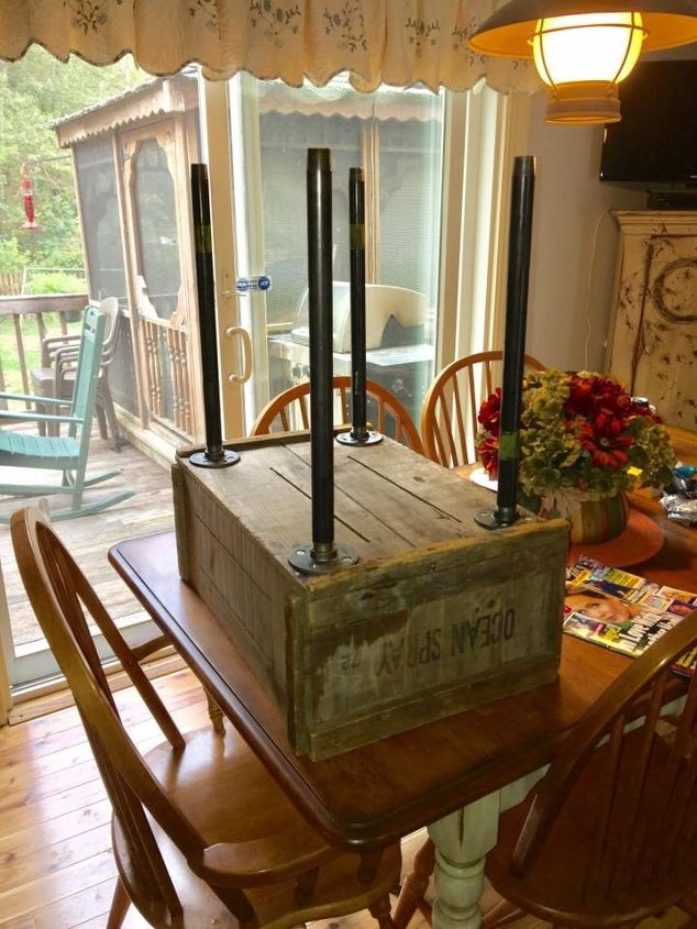 new purpose for old wood crate, container gardening, gardening, repurposing upcycling