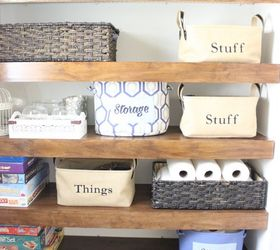 Diy Covers For Wire Shelving, Bathroom Ideas, Closet, Organizing, Shelving  Ideas,
