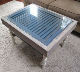 Shutter And Slats Coffee Table, Curb Appeal, Painted Furniture, Repurposing  Upcycling, Shabby