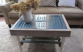 Shutter and Slats Coffee Table