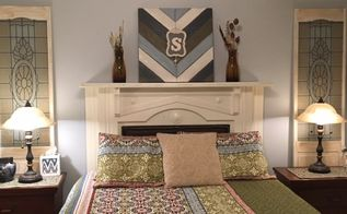 ugly mantel to bedroom beautiful , bedroom ideas, fireplaces mantels, After