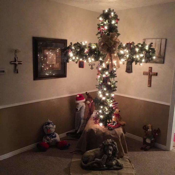 Christmas tree cross for Christmas | Hometalk