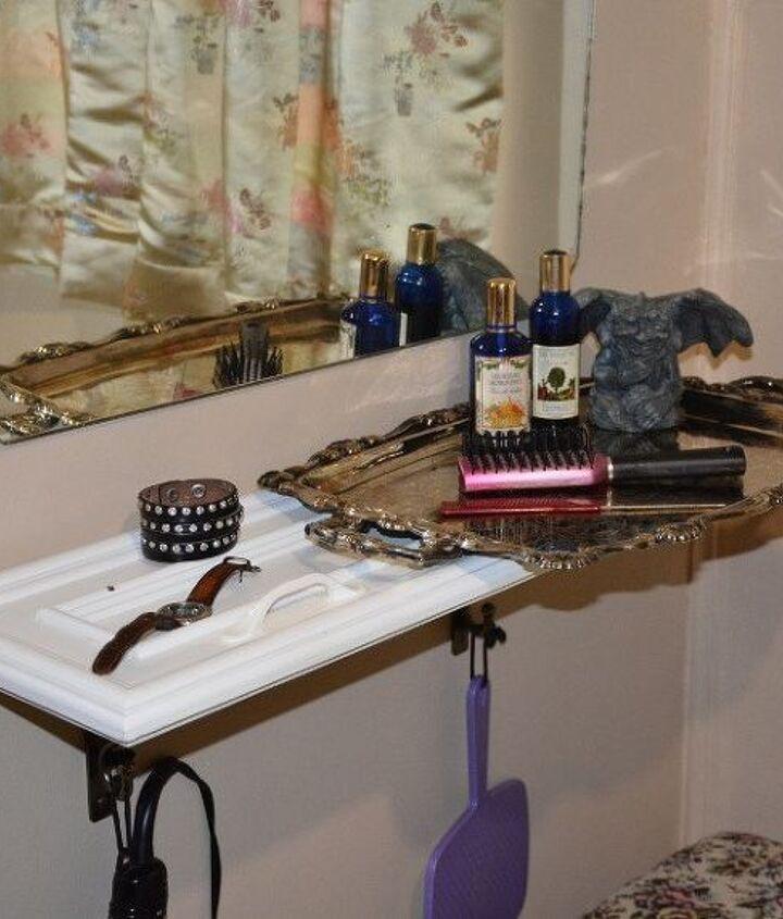 vanity on a budget a tiny budget, bathroom ideas, bedroom ideas