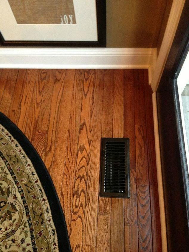 s hide your ugly vent with these 7 brilliant ideas, hvac, The fix Spray paint them a dark color